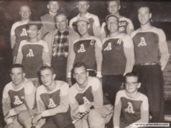 Atherly Ball Team 1958