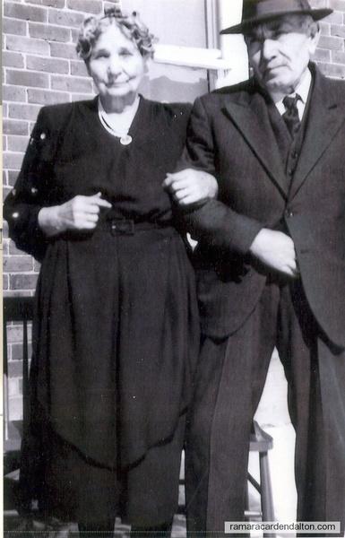 Druscilla Bull Bay & Husband Francis Baye -Jan. 25, 1948-50th Wedding Anniversary
