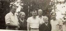 Simons/Holmes Family- Ossineke, Michigan- circa 1939