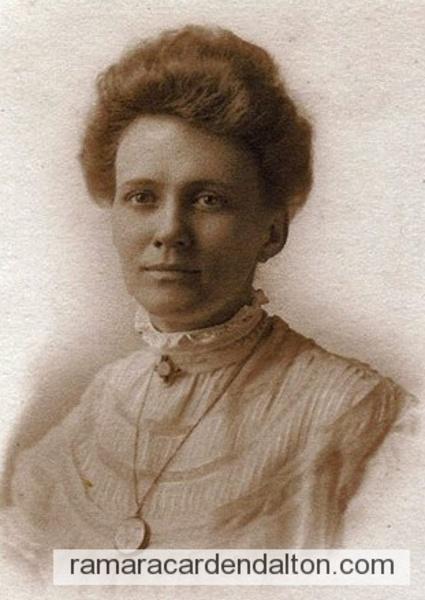 Violet Ann Holmes, circa -1890s