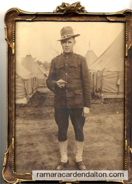 Ward Morrison, 1918