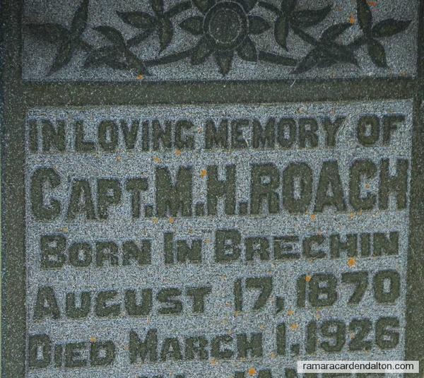 Captain Martin Hugh Roach