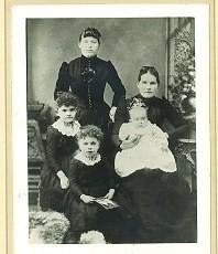 Nora Moffatt & sister Margaret Ann,  (Mrs. Michael McDonnell)