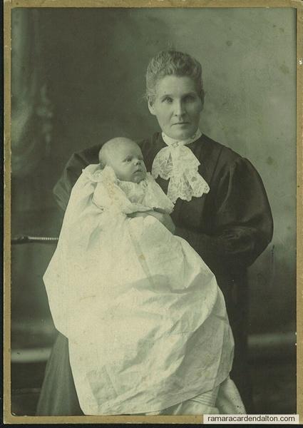 Margaret Ann (MOFFATT) McDonnell & grandchild