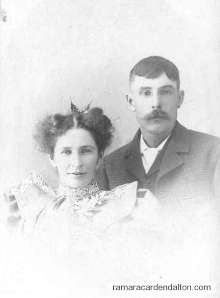 Jim McElroy & 'Nel' Margaret Ellen Moffatt