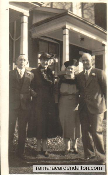 James Moffatt, Tes O'Connor, Catherine McDonnell, (Mrs. James O'Connor), James O'Connor