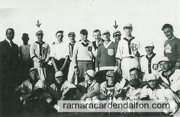 Jay Moffatt, 1922 Beaverton Team