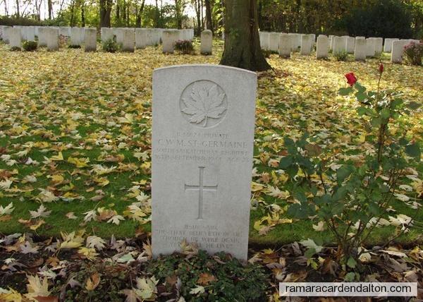 Private Charles William Myers  St. GERMAINE- Adegem, Belgium