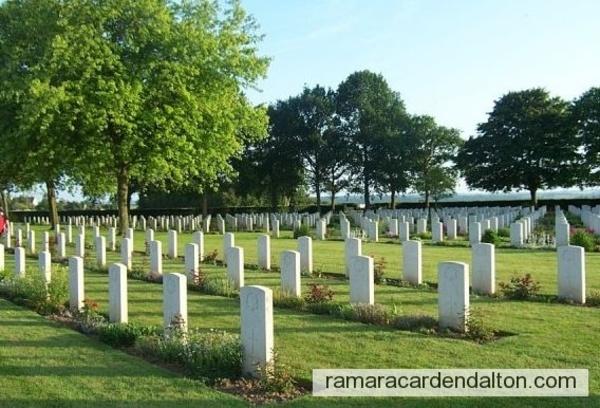 McCARTHY & SPEIRAN / BRETTEVILLE-SUR-LAIZE CANADIAN WAR CEMETERY, Calvados, France