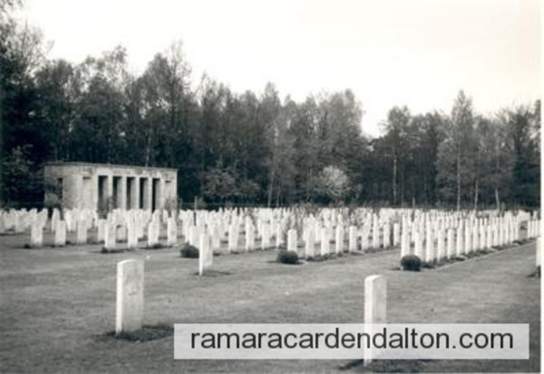 R. AGNEW / SAGE WAR CEMETERY,  Sage, Germany