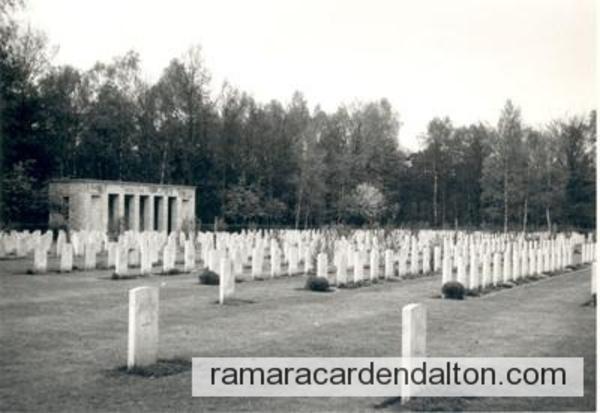 R. AGNEW / SAGE WAR CEMETERY,  Sage, Germany