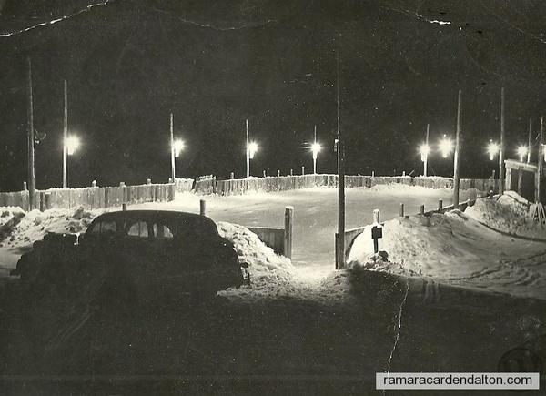 Brechin Skating Rink --mid 1950's