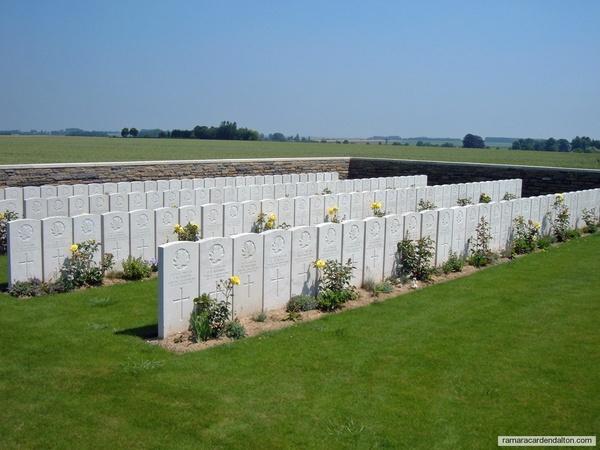 Chester Barnes / Sancourt British Cemetery, Nord, France