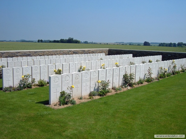 Chester Barnes / Sancourt British Cemetery, Nord, France