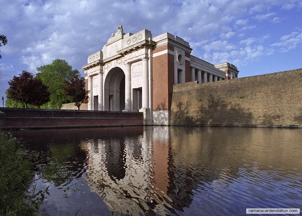 BETSKO, CARTWRIGHT,DOLAN, GLOVER, KING, STAMP/Ypres(MENIN GATE) Memorial, Belgium