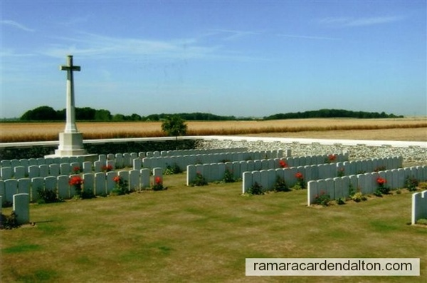 Robert Campbell/Dominion Cemetery, Hendecourt-les-Cagnicourt, France
