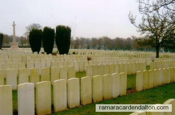 Russel McCUAIG / Abbeville Communal Cemetery, Somme, France
