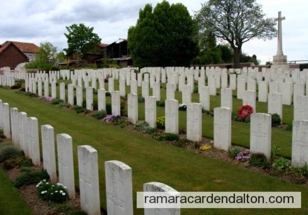 Gnr. Lee MERKLEY / Anzin-St. Aubin British Cemetery, Pas de Calais, France
