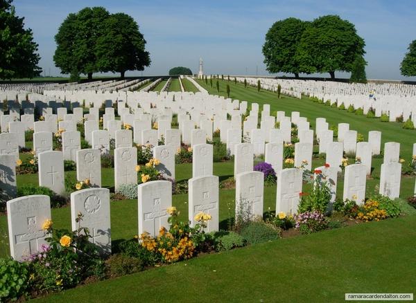Alex. MORTON / Cabaret Rouge British Cemetery, Pas de Calias, France