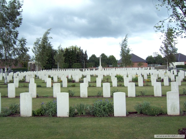 George PARKIN /Albert Communal Cemetery, Somme, France