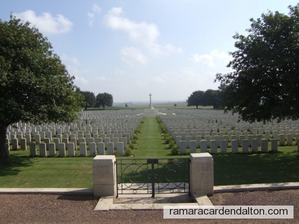 Geo. Henry FISHER-SMITH / Adanac Military Cemetery, Somme, France