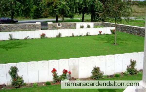 Hardy Alfred FISHER SMITH / St.Olle British Cemetery, Raillencourt, Nord, France