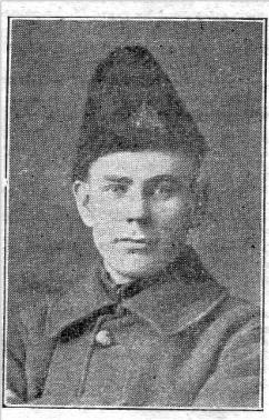 Sgt. Frederick 'Fred'  John Stillman, MM