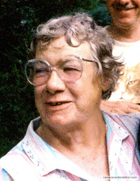 Helen Rita Gravelle  circa 1987