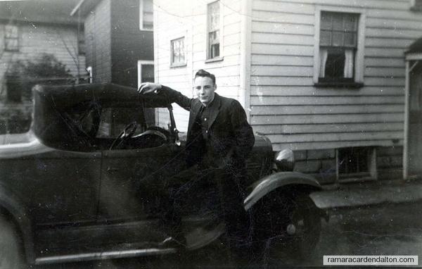 Wayne Rowan, circa 1945