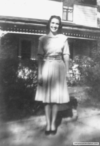 Margaret Audrey ROWAN, (1929-1975) circa 1947