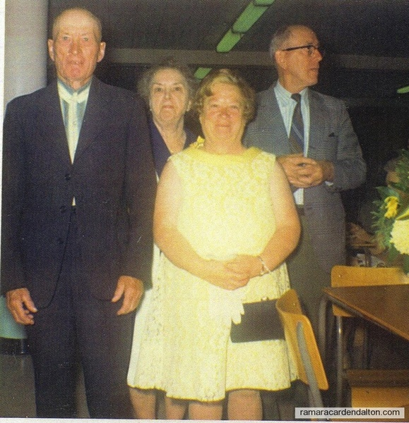 Joseph Michael, Viola (Mrs. Walsh), Rena Ann (Mrs. Mingo) & Bartley James McDONNELL