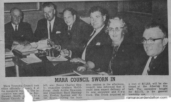 Mara Council newspaper article 11 Jan 1967