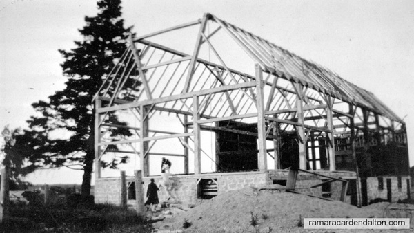 Harrington Barn Raising in Dungannen