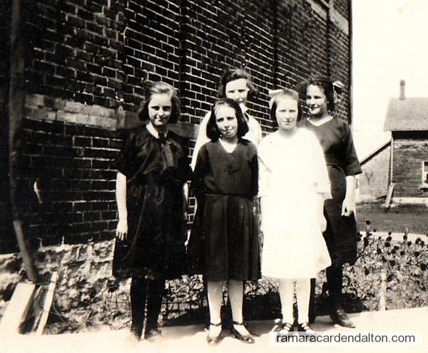 Foley School-- Rita Moffatt-Back 3rd on left