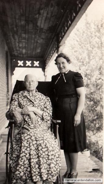 Rita (Moffatt) Lambe & Mother  Mary Moffatt (Mayock)