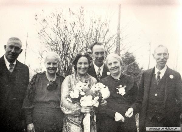 Tom Lambe- Rita Moffatt,  Wedding--1937