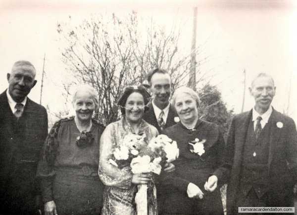 Tom Lambe- Rita Moffatt,  Wedding--1937
