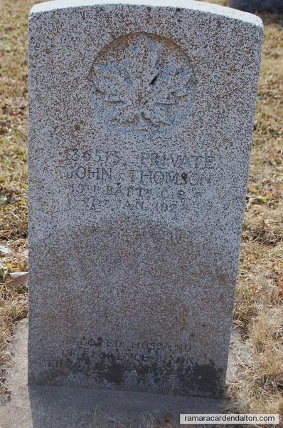 Pte. John THOMSON