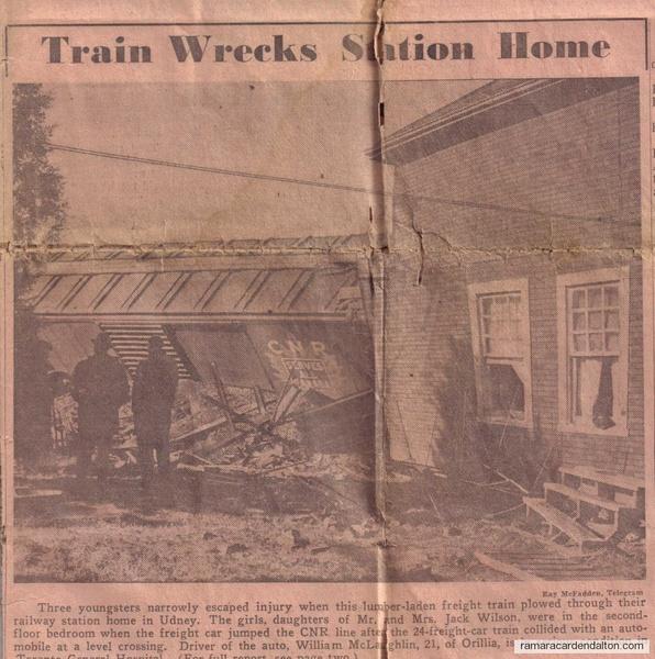 Udney Train Wreck