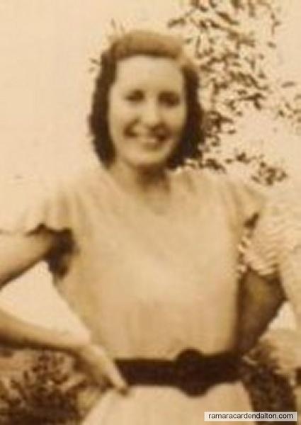 Gladys Hasselfeldt (nee English) 1940's