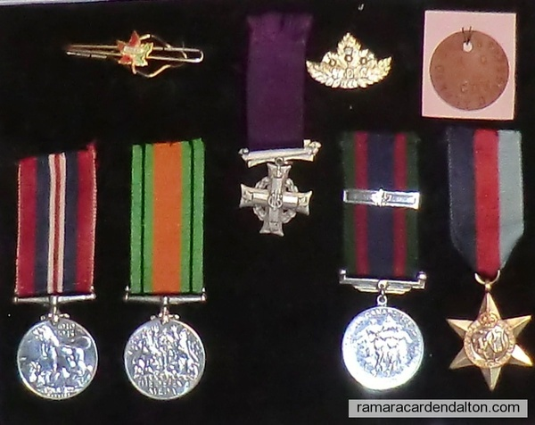 Denis Gerrard McCarthy WWII Medals