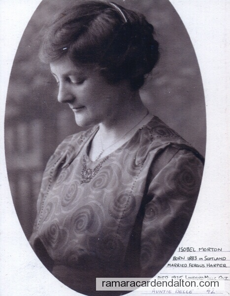Isobel MORTON,  1883-1925