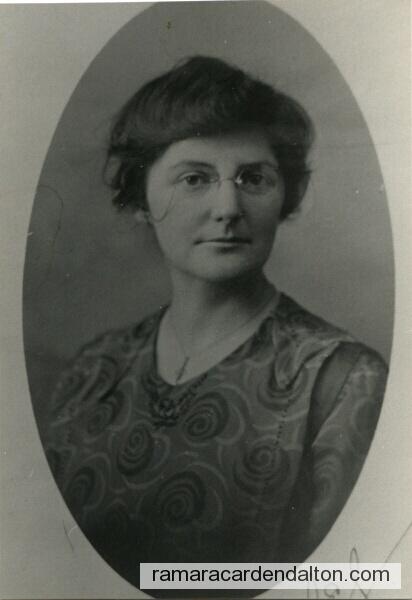 Isobel Morton- 1883-1925