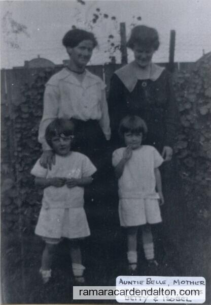 Isobel Harper, Elizabeth Morton, Elizabeth Holmes &  Isobel Holmes