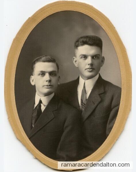 MORTON - Robert William & Alexander Smith