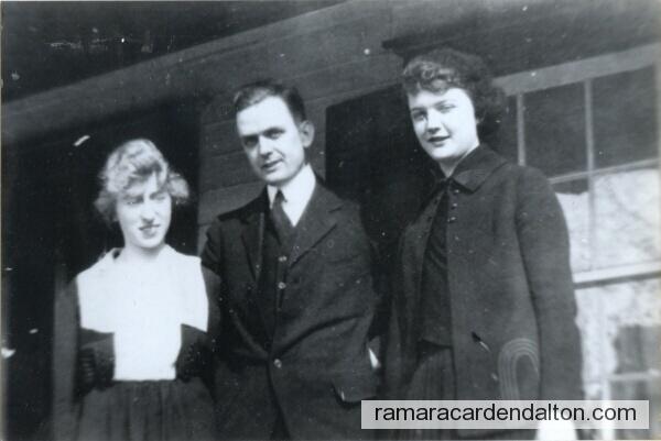 Lillian (Mrs. Robert Morton) Robert William Morton and his sister Janet.