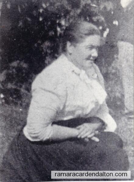Janet Allan Smith MORTON, nee McGILL
