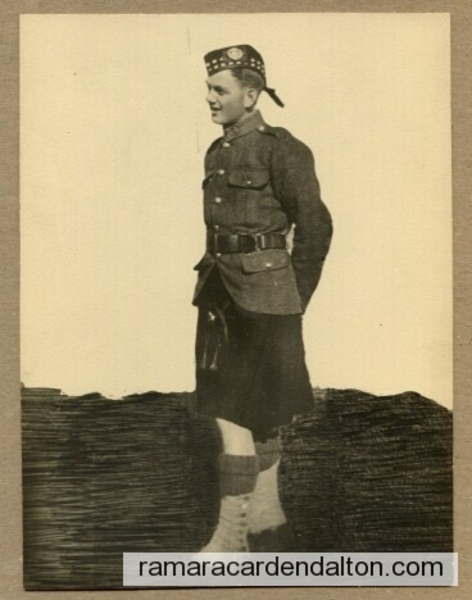 Pte. Alexendar Smith MORTON  K.I.A  WW1