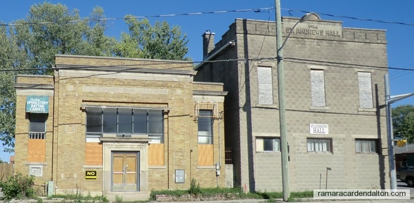 Bank and St. Adrews Hall