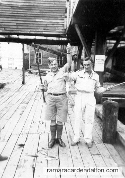Dick Butler & Friend